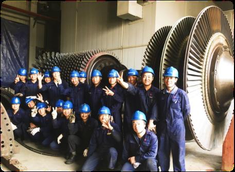 巴基斯坦南迪普425MW联合循环电厂A级燃机检修圆满完成