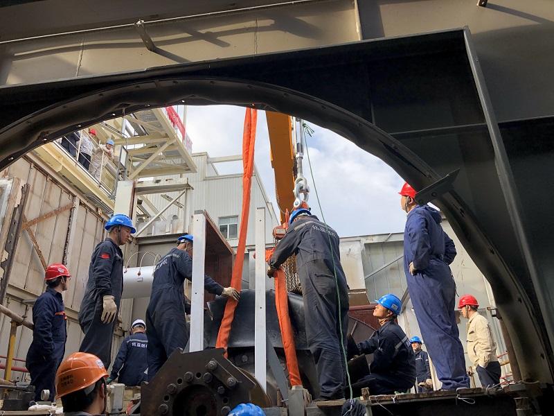 苏州北部#1燃机B修顺利竣工
